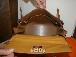 Sac Kelly Hermes 1987 exceptionnel Cuir Fjord Gold 32 cm