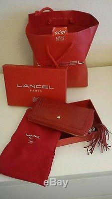 Sac LANCEL FIRST FLIRT Edition limitée + Compagnon + accroche sac