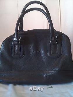Sac Longchamp cuir Cosmos / Kate Moss noir NEUF