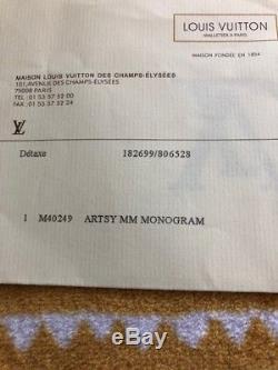 Sac Louis Vuitton modèle Arsty avec facture (Décembre 2011)