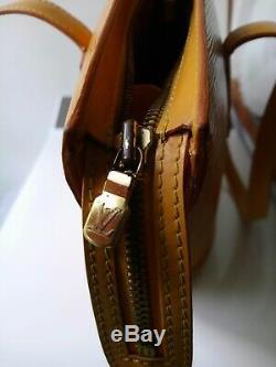 Sac Vuitton Jaune Cuir Epi Saint Jacques Gm