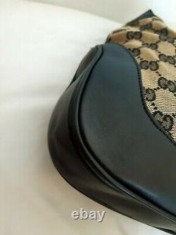 Sac à Main Gucci en Toile Monogrammé et Cuir Gucci Monogram Canvas Bag