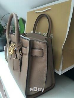 Sac à Main Leather Bag Michael Kors Hamilton Medium Size En CUIR neuf