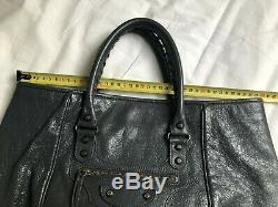 Sac à main BALENCIAGA Sunday neverfull shopping gris avec facture 700 eur 570GBP