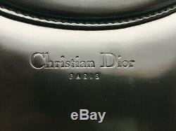 Sac à main Christian Dior cuir verni anses en O
