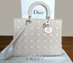 Sac à main Dior Modèle Lady Dior Cabas état neuf, authentique + Facture