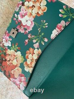Sac à main GUCCI, modèle Dionysus vert à fleurs