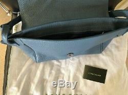 Sac à main Longchamp Penélope Porté Travers cuir bleu nf étiquette 540 e