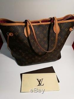 Sac à main Louis Vuitton NeverFull garanti authentique e772de265da