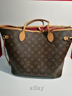 Sac à main Louis Vuitton NeverFull garanti authentique 57115e9771c