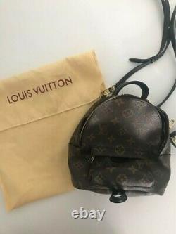 Sac à main Louis Vuitton Palm Springs mini