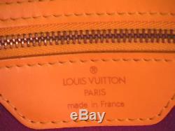 9790dc98a810 Sac a main Louis Vuitton Saint-Jacques en cuir epi jaune