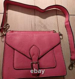 Sac a main Louis Vuitton biface rose
