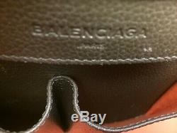 Sac à main Paper Balenciaga texturé bicolore