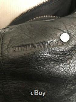 Sac a main Sonia Rykiel noir cuir très bon état
