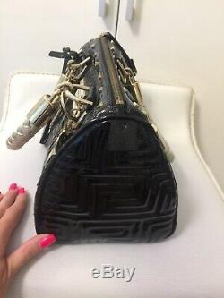 Sac à main Versace, noir cuir verni très bon état
