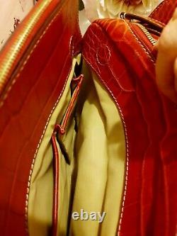 Sac à main authentique LANCEL le ADJANI en cuir rouge occasion excellent état