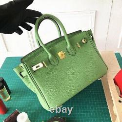 Sac à main cuir véritable classic avec bandoulière bag ville, chic, intemporel