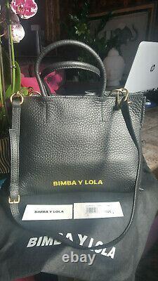 Sac à main en cuir véritable Bimba Y Lola, authentique