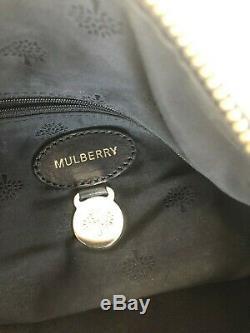 Sac à main noir bandoulière Mulberry Hetty cuir grainé facture 750GBP 890EUR