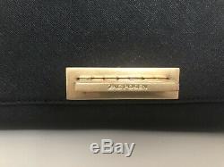 Sac à main noir bandoulière Zac Posen Ertha medium cuir saffiano 586 EUR