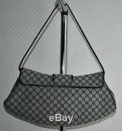 Sac à main petit sac mini sac CÉLINE en toile et cuir
