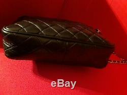 Sac chanel cuir noir matelasse sublime et tendance