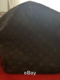 Sac de voyage Louis Vuitton cuir patiné A saisir BE