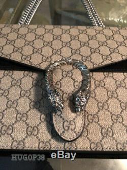 Sac délicatement authentique Gucci GG Dionysus moyen