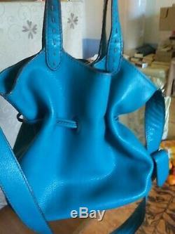 Sac lancel easy flirt turquoise
