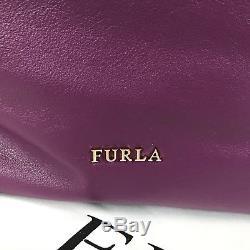 b44fbccfa90 Cuir Authentique porté FURLA Cabas Sac Violet épaule Neuf qIwd00Fx