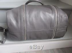 Sac sunny zadig et voltaire grand modele cuir gris