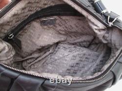 Sublime authentique grand sac à main BALLY cuir vintage bag