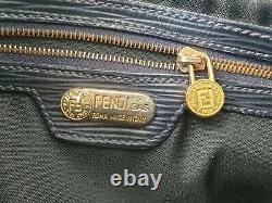 Sublime petit sac à main FENDI cuir