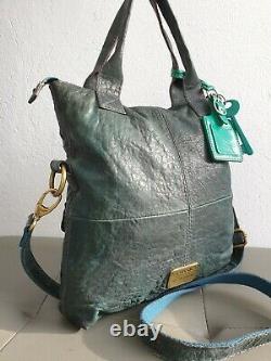 Sublime sac à main FOSSIL en cuir avec bandoulière