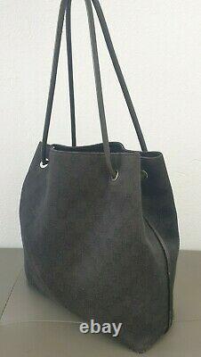 Sublime sac à main GUCCI toile et cuir réf(152279-001998)