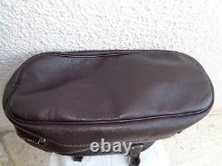 Superbe sac à main en cuir LONGCHAMP TBEG authentique & vintage Bag A(4)