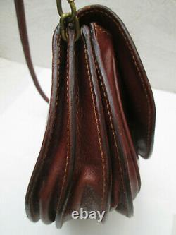 - THE BRIDGE sac à main vintage cuir TBEG bag