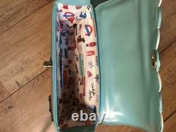 VENDULA LONDON 2018 sac à main mod. LITTLE SEWING SHOP, étiqueté prix 250 RARE
