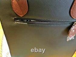 VENDULA LONDON sac à main LONDON CHARMS Gris anthracite neuf, étiqueté