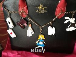 VENDULA LONDON sac à main MAISY neuf, étiqueté prix 155 avec 6 charms