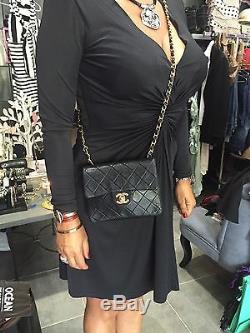 Vintage Chanel Cuir Mini Sac 2.55 Classique