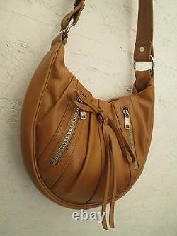 YVES SAINT LAURENT cuir authentique sac à main vintage bag